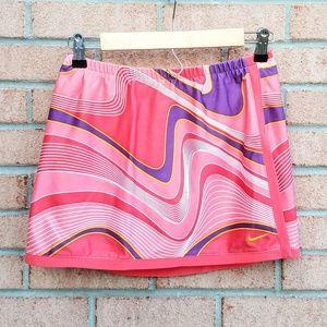 """Nike Dri-Fit Pink Marbled 12"""" Skort"""